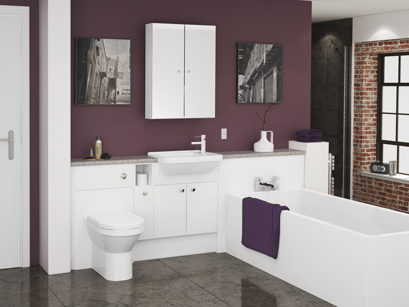 Gloss White Bath Panels Be Modern Contract Solutions