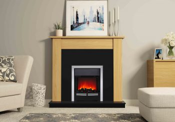 Feel the benefit of installing an electric fireplace